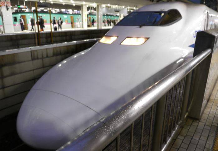 2020年2月14日700系B編成東京駅見物録